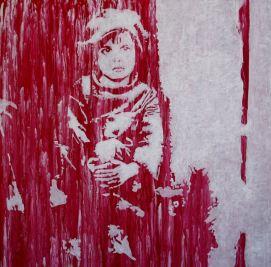 Le kid, acrylique sur toile, Rodolphe Cosimi
